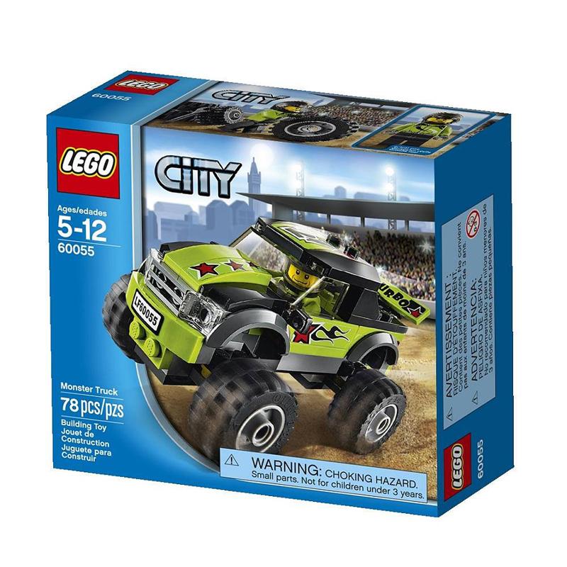 Do choi Lego 60055- Xe dua dia hinh