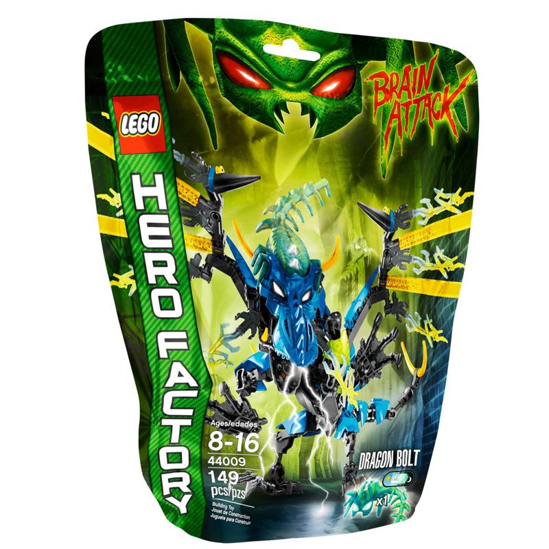 LEGO 44009 Hero Factory - Xep hinh Rong lua BOLT