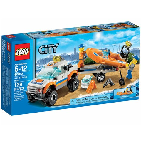 Lego 60012 - Do choi xep hinh xe cho Cano
