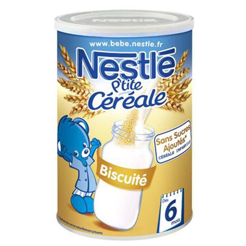 Bot pha sua Nestle vi Bistcuit 6m+ 400g