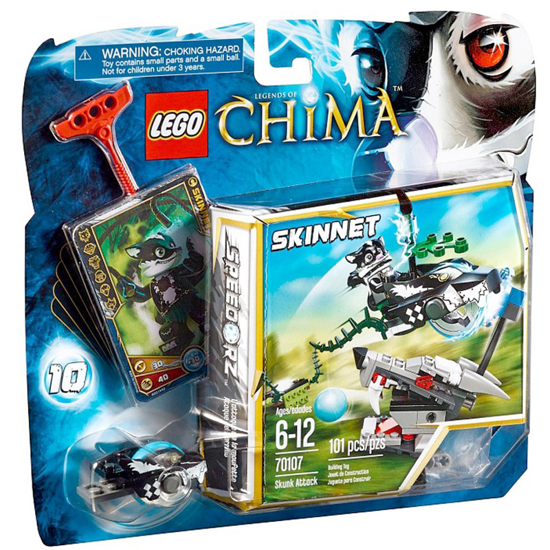 Do choi Lego Chima 70107 - Chon tan cong