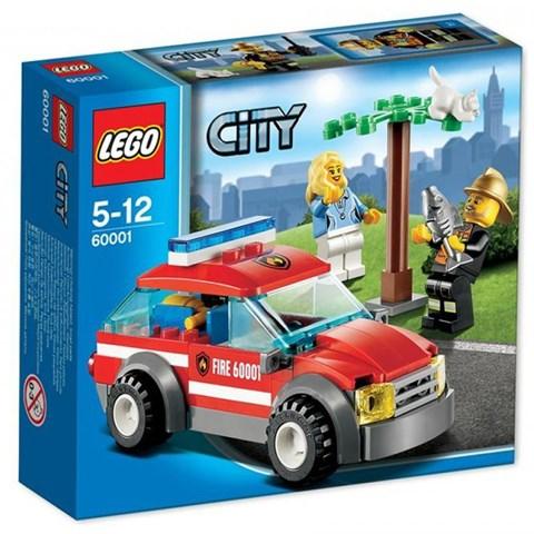 Do choi LEGO City 60001 xep hinh Fire Chirf Car
