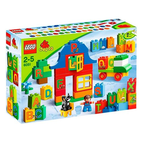 LEGO 6051 Play with Letters
