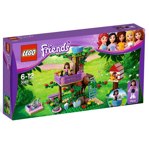 LEGO 3065 - xep hinh Friends Olivia's Tree House