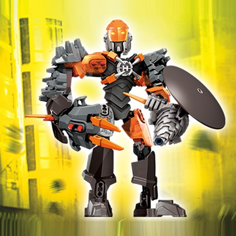 Combo Lego 44004 Hero Factory + 44005 Hero Factory