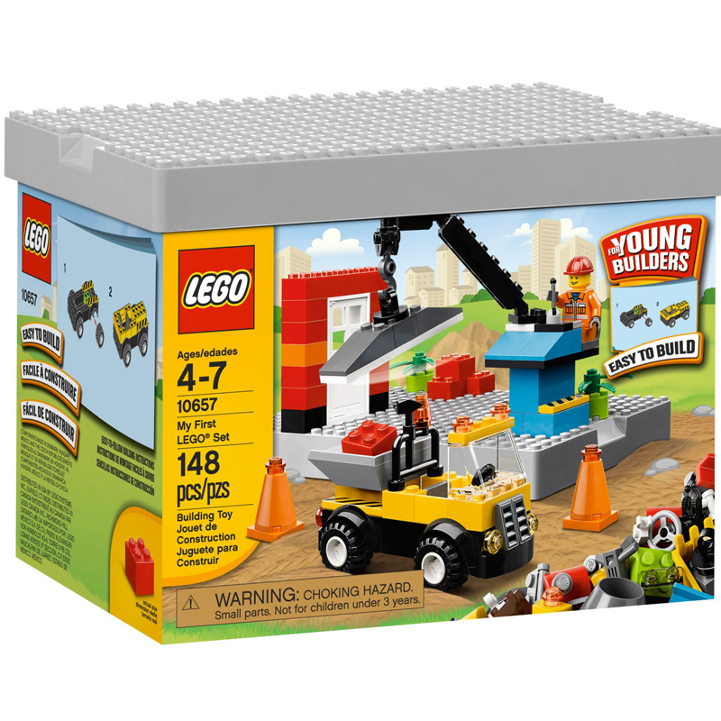 Do choi LEGO 10657 My First LEGO Set (xay dung cho be trai)