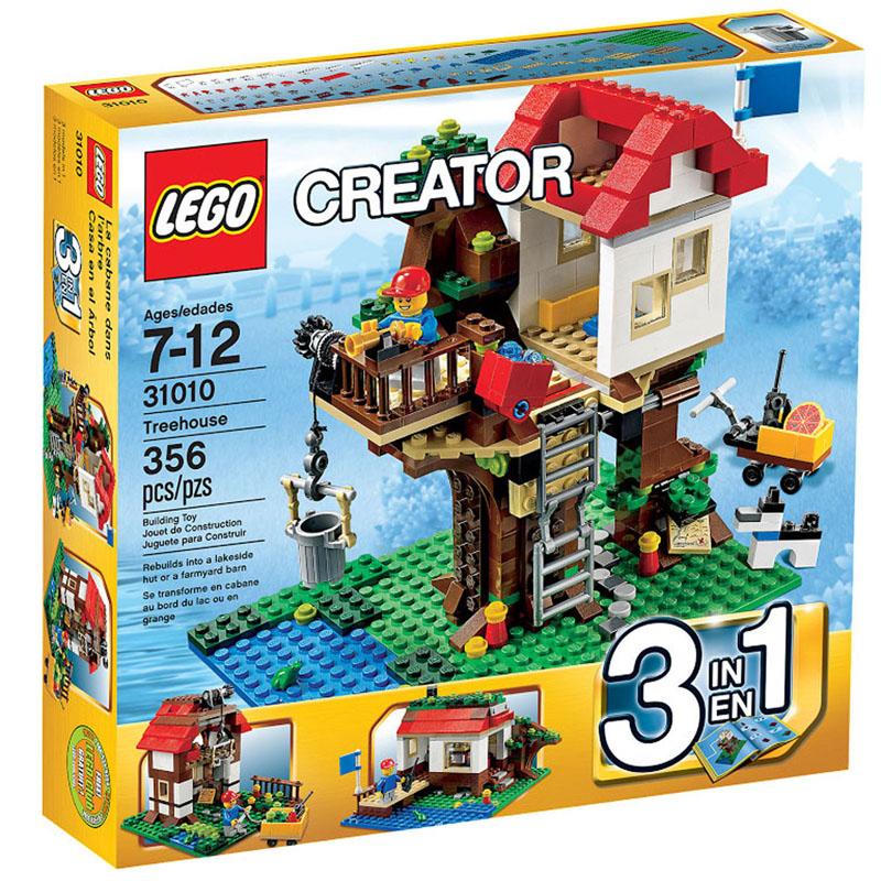 Do choi LEGO 31010 - Xep hinh ngoi nha tren cay