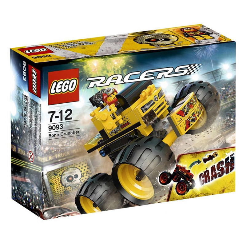 Do choi LEGO 9093 xep hinh Bone Cruncher