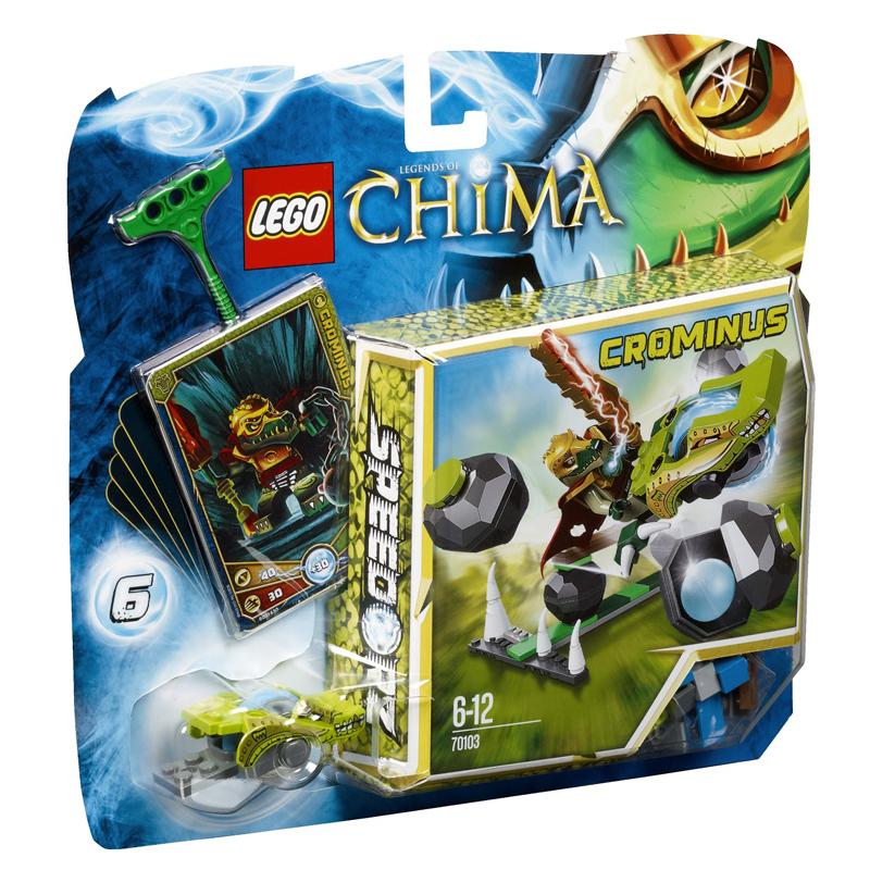 LEGO Chima 70103 - Xep hinh Pha da tim ngoc