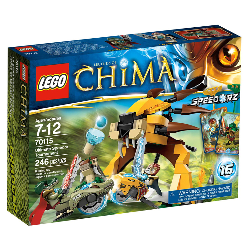 Do choi LEGO Chima 70115 xep hinh Ultimate Speedor Tournament