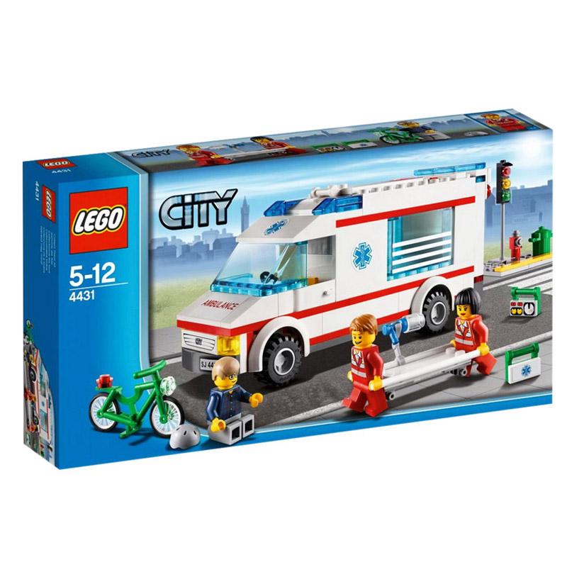 Do choi LEGO city 4431 xep hinh xe cuu thuong Ambulance