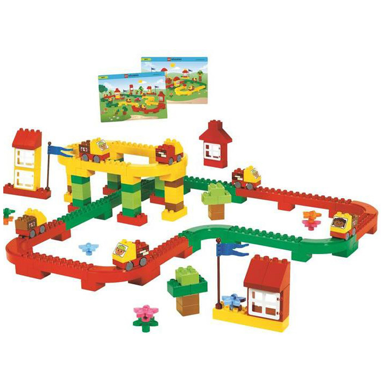 Do choi Lego Education 9077 - Bo van tai duong bo
