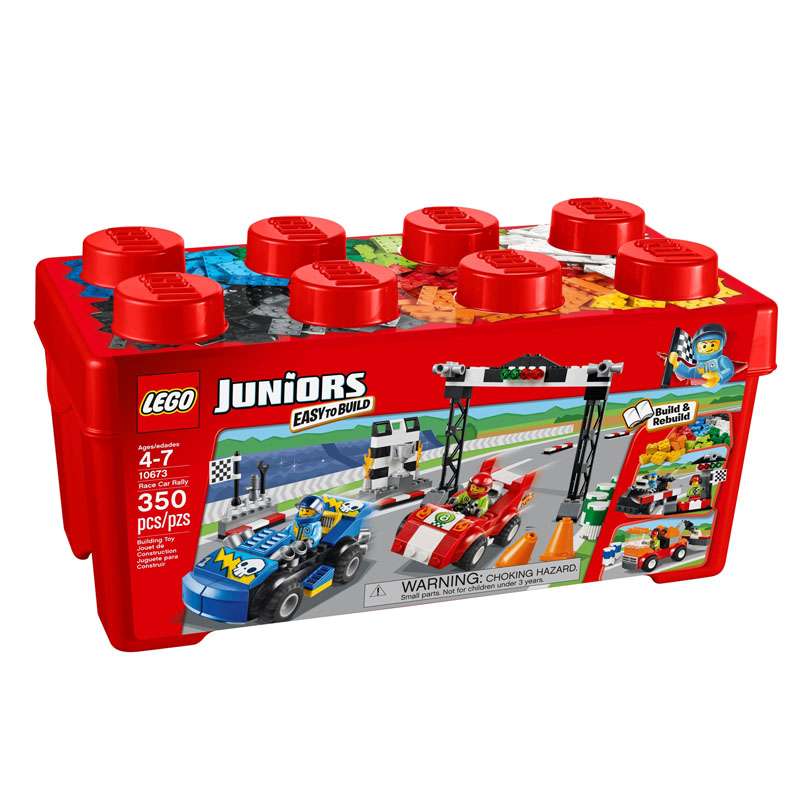 Do choi Lego Juniors 10673 - Cuoc dua than toc