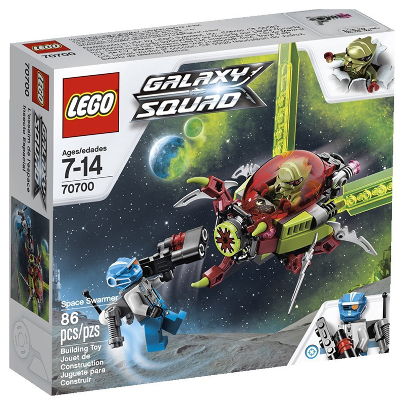 Do choi LEGO xep hinh Galaxy Squad 70700 Space Swarmer