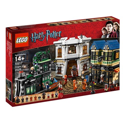 LEGO 10217 xep hinh Diagon Alley (Khu mua sam cua the gioi phu thuy)