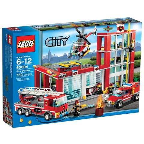 LEGO 60004 - Do choi xep hinh So cuu hoa thanh pho