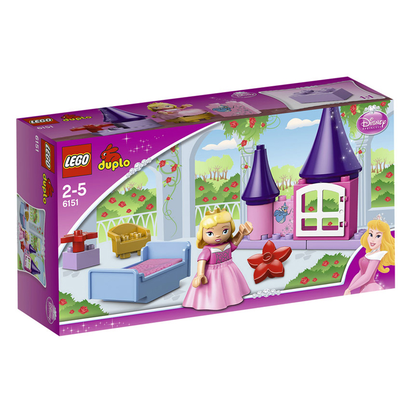 LEGO 6151 - Do choi xep hinh Sleeping Beauty's Room