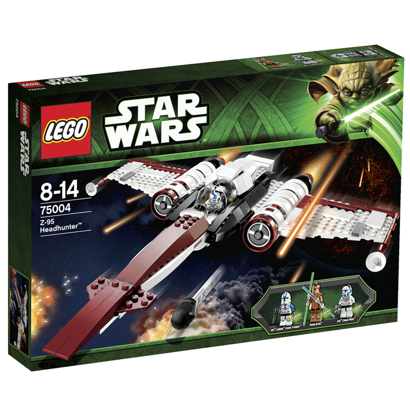 LEGO 75004 - Do choi xep hinh may bay Headhunter
