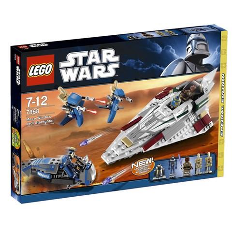 LEGO 7868 xep hinh Mace Windu's Jedi Starfighter