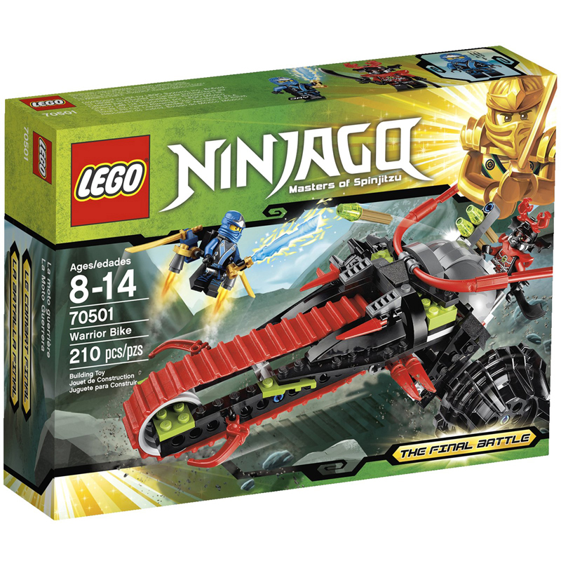 LEGO Ninjago 70501 xep hinh Warrior Bike
