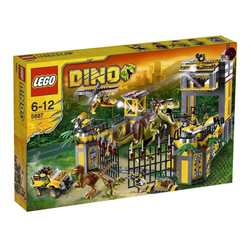 Do choi Lego 5887 - Trung Tam Doi Pho Khung Long