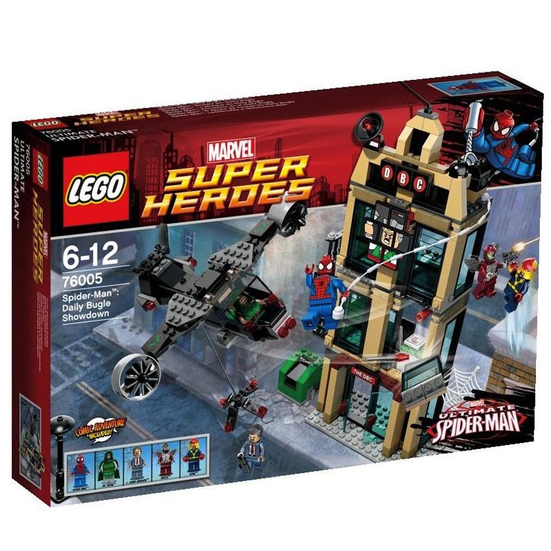 LEGO 76005 Spider Man - Tran chien quyet dinh