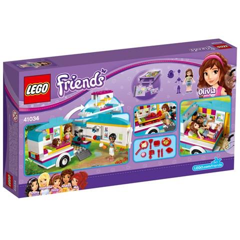 Do choi LEGO Friends 41034 - Xe cam trai mua he