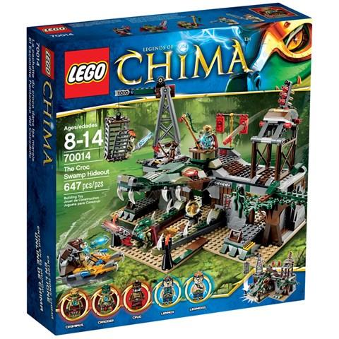 Do choi LEGO 70014 - Xep hinh Dam lay ca sau