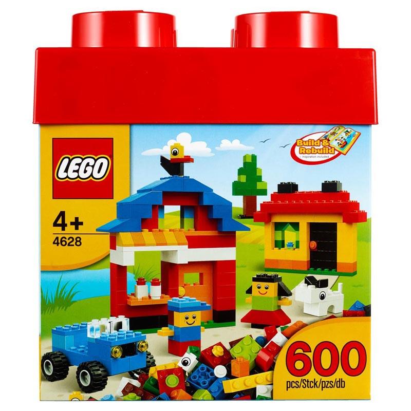 LEGO 4628 - Do choi xep hinh thung gach vui nhon
