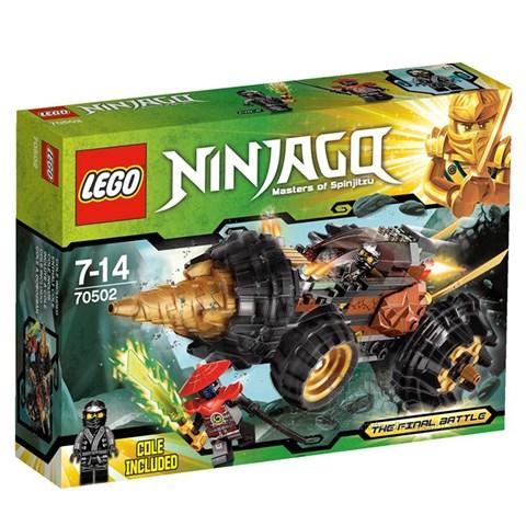 LEGO Ninjago 70502 xep hinh Cole's Earth Driller