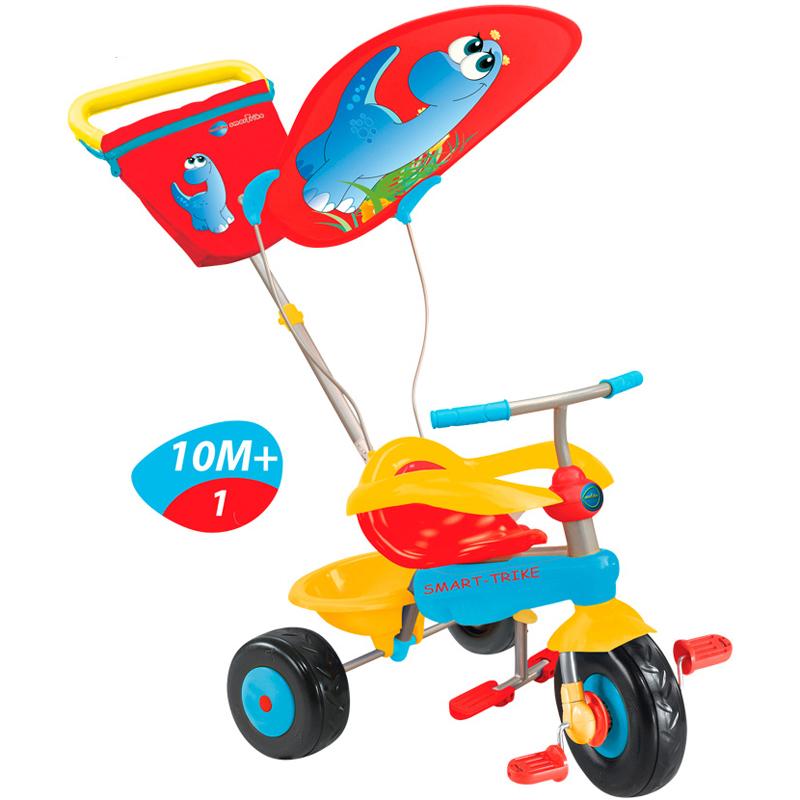Xe dap ba banh Combi Smart Trike Candy mau do