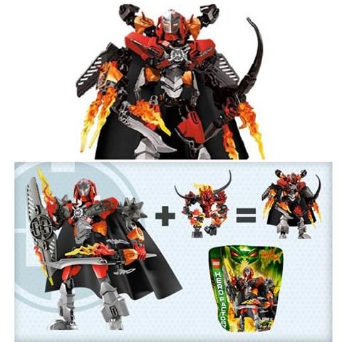 Combo Lego 44000 Hero Factory + 44001 Hero Factory