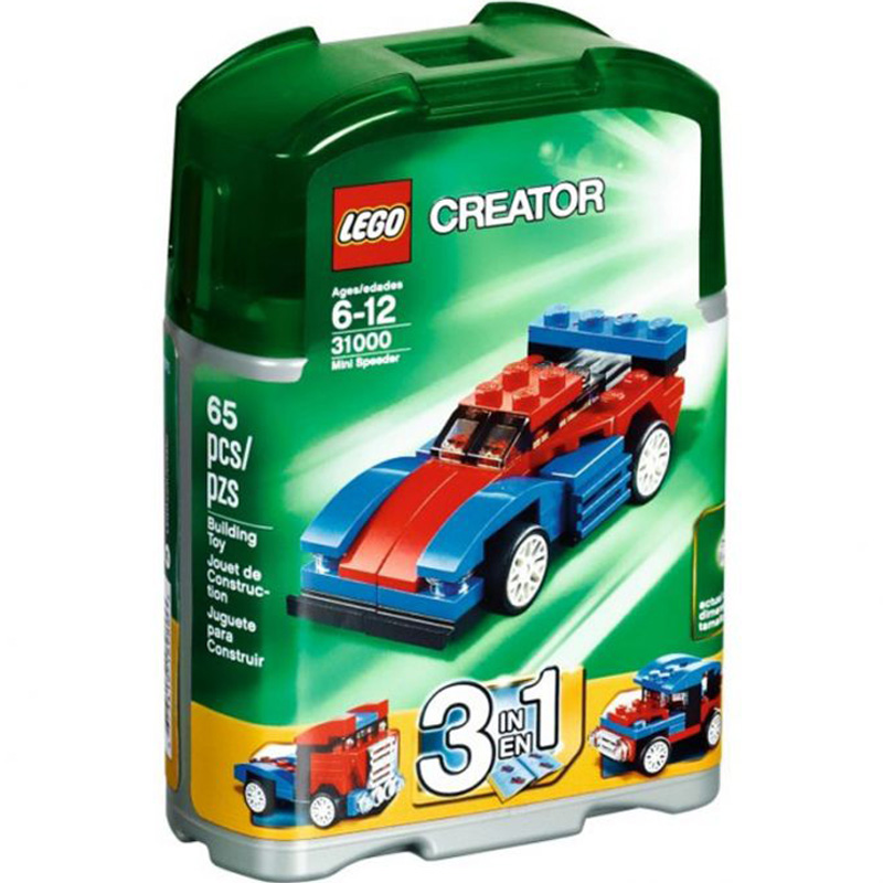 Do choi lego LEGO 31000 – Bo xep hinh Mini Speeder V29