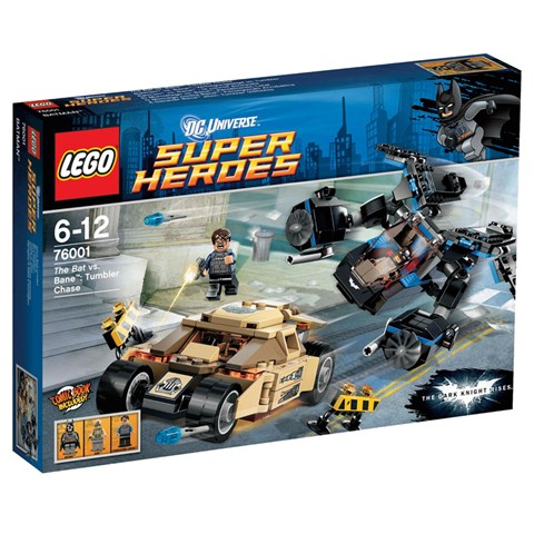 LEGO 76001 - Nguoi Doi va Bane Ruot Duoi Ngoan Muc