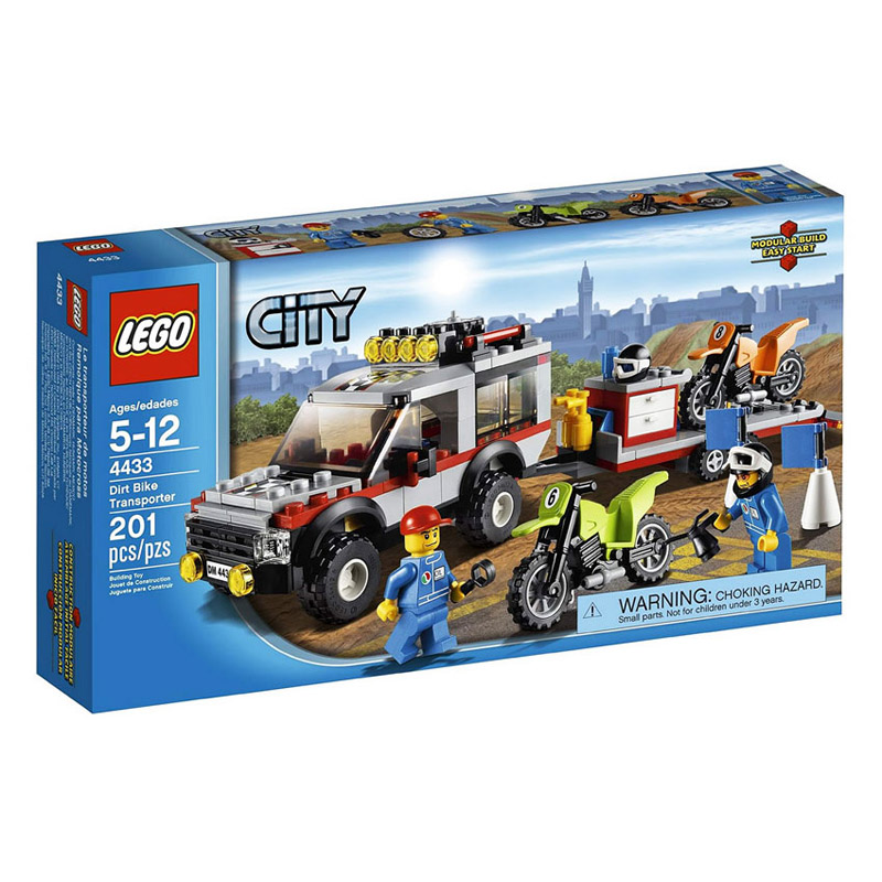 LEGO City 4433 - Do choi xep hinh xe chuyen cho o to