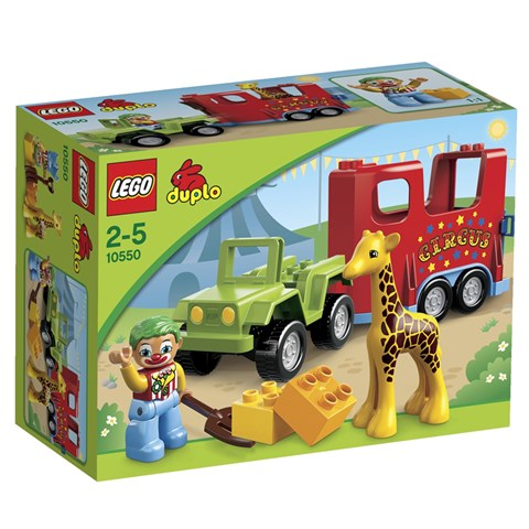 LEGO Duplo 10550 - Xep hinh doan xiec luu dong