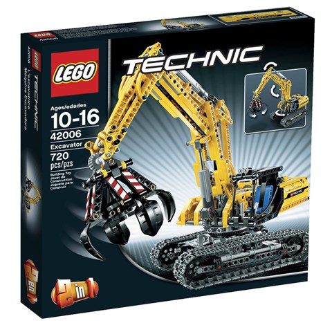 LEGO Technic 42006 - Xep hinh may dao chuyen dung