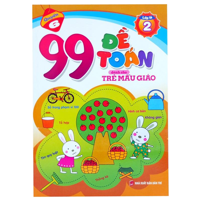 99 de toan danh cho tre mau giao ( lop la 2)