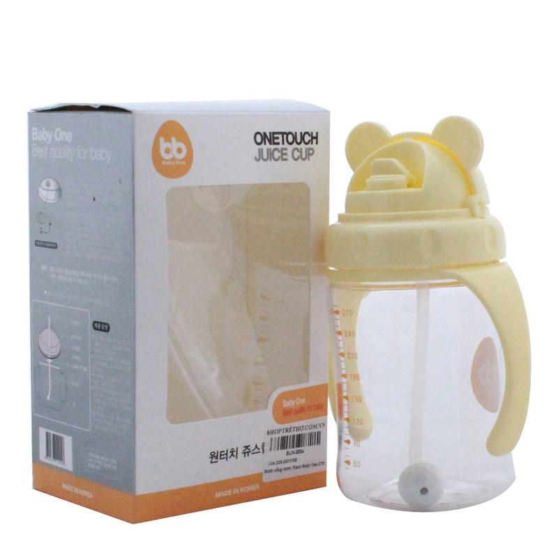 Binh uong nuoc Nano Baby One 270 ml