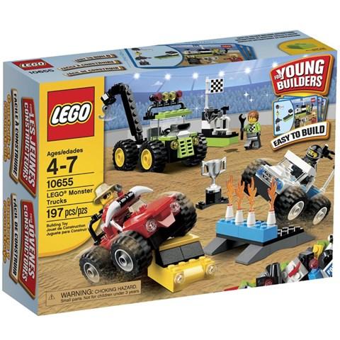 Do choi LEGO 10655 xep hinh xe tai quai vat