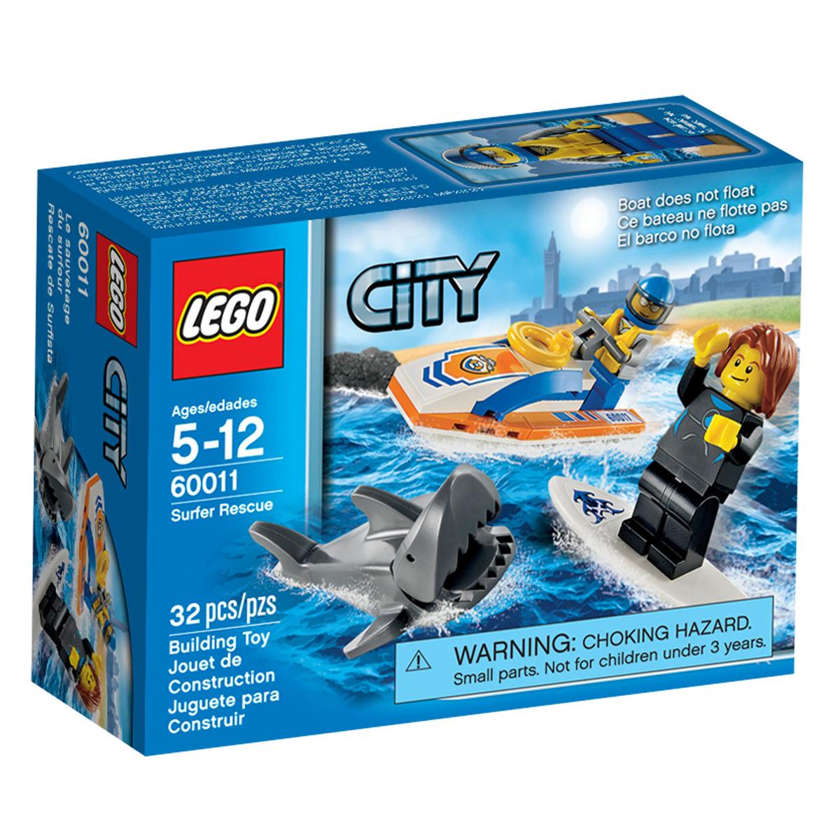 Do choi LEGO 60011 - Xep hinh Cuu ho khan cap