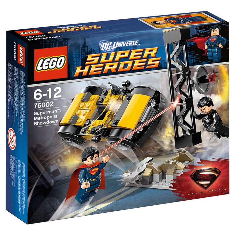 Do choi LEGO 76002 - Tran chien quyet dinh tai Metropolis