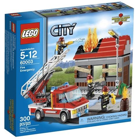 Do choi LEGO City 60003 - Xep hinh cuu hoa khan cap