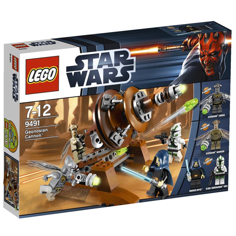 Do choi LEGO star wars 9491 - Sung than cong cua chung toc con  trung