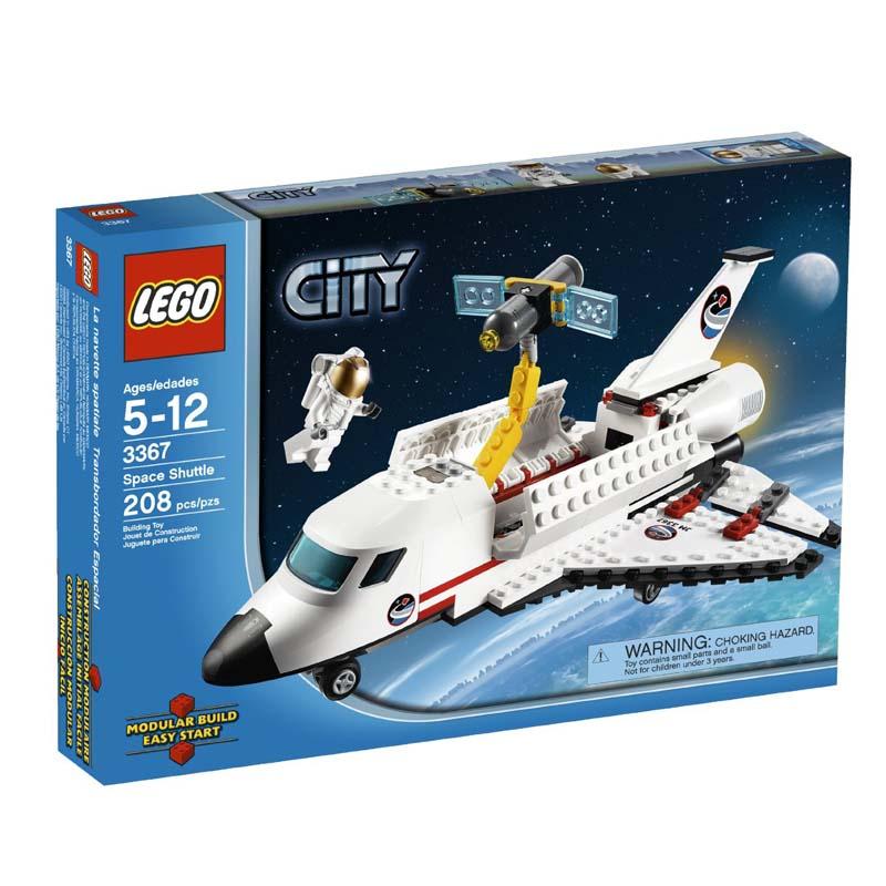 LEGO 3367 City - Xep hinh Phi thuyen khong gian