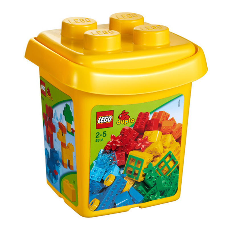LEGO 5538 xep hinh Creative Bucket - 76pcs
