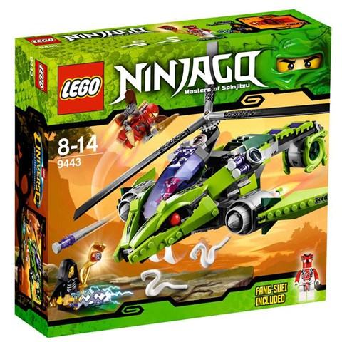 LEGO 9443 xep hinh Ninjago Rattlecopter