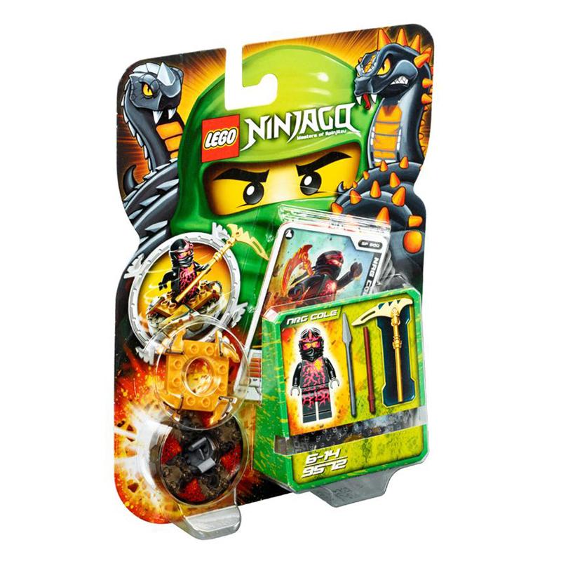 LEGO 9572 xep hinh Ninjago NRG Cole