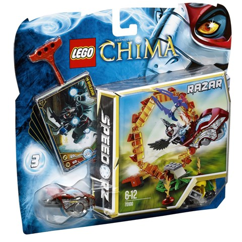 Lego Chima 70100 - Xep hinh xuyen vong lua