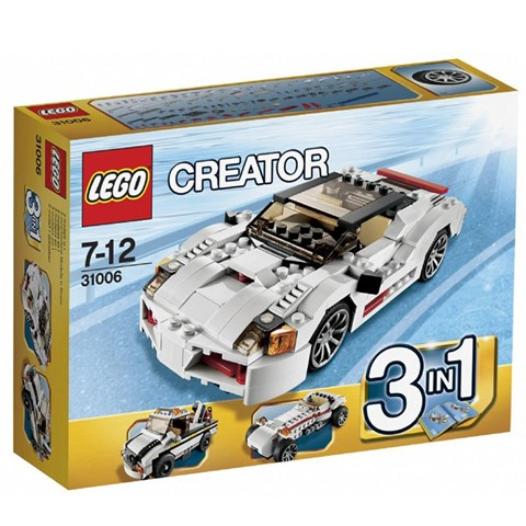 LEGO Creator 31006 - Xep hinh sieu xe toc do